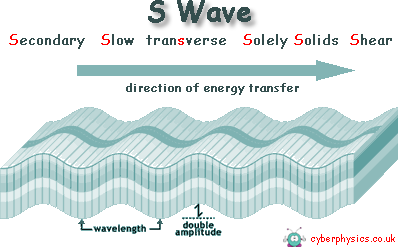 Seismic Waves: S Waves