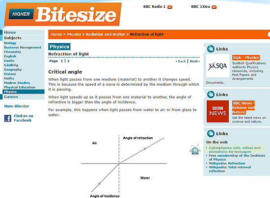 Physics revision gcse and a level physics revision cyberphysics bbc bitesize recommends cyberphysics for many of its gcse topics ccuart Image collections