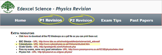 Physics revision | GCSE and A Level Physics Revision | Cyberphysics