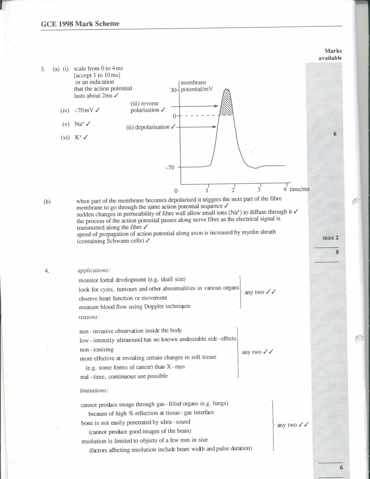 physics examiner report june 2003 June 2000 physics 30 grade 12 diploma examination description time: a tear-out physics data sheet is included near the back of this booklet examiner • read each question carefully • consider all numbers used in the.